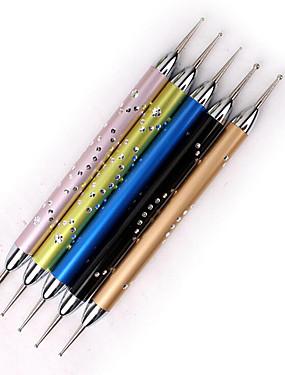 voordelige puntjes gereedschap-5 stuks Tips voor kunstmatige nagels Nail Art Tool Nail Art Kit Voor Modieus Design / Lichtgewicht Sterkte En Duurzaamheid Nagel kunst Manicure pedicure Professioneel / Modieus Alledaagse kleding