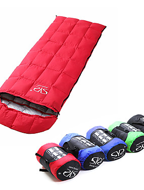 cheap Sports & Outdoors-Sheng yuan Sleeping Bag Outdoor Camping Envelope / Rectangular Bag 5 °C Single Down Ultralight Warm Ultra Light (UL) Folding Fall Winter for Camping / Hiking Camping / Hiking / Caving Outdoor