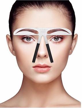 preiswerte Augenbrauen Accessoires-Augenbrauen-Schablone Profi Level Bilden 1 pcs Edelstahl Augenbraue / Gesicht Tragbar / Universell Kosmetikum Pflegezubehör