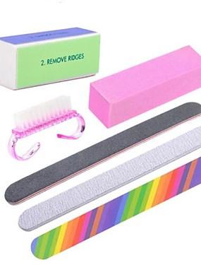 levne Nůžky a kleštičky-6ks Nástroj na nehty Sada na nehty Pro Módní design / kreativita / Odolnost proti opotřebení nail art manikúra pedikúra Přizpůsobeno / Zvýraznění / dekorace / Moderní