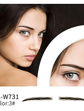 preiswerte Mascara-Augenbrauen Augenbrauen-Farbe Augenbrauen-Schablone Handgemacht / Weihnachten / Damen Bilden 1 pcs Damen / Lady / Auge Gute Qualität / Modisch Party / Party / Abend / Freizeitskleidung Alltag Make-up