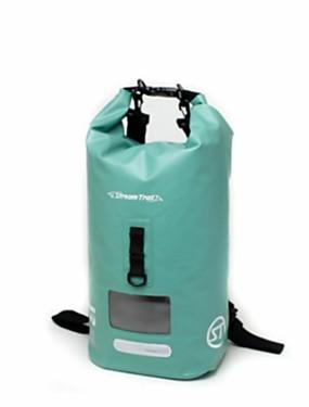 cheap Sports & Outdoors-20 L Sports & Leisure Bag Rucksack Rain Waterproof Quick Dry Waterproof Zipper for Diving Snorkeling Hiking