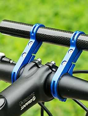 cheap Sports & Outdoors-Bike Handlebar Extender Flashlight Mount Holder Carbon Fiber Lightweight Extended Tool Holder for Road Bike Mountain Bike MTB TT Engineering Plastics Carbon Fiber Aluminium Alloy Black Black / Red