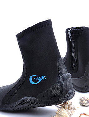cheap Sports & Outdoors-Men's Women's Neoprene Boots 5mm Spandex Neoprene Anti-Slip Diving Surfing Snorkeling Aqua Sports - for Adults