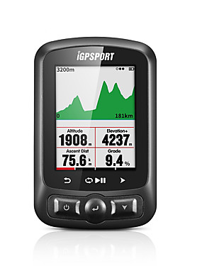 cheap Sports & Outdoors-iGPSPORT® IGS618 Bike Computer / Bicycle Computer Waterproof Stopwatch GPS Mountain Bike / MTB Road Cycling Cycling