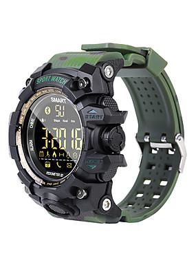 preiswerte Intelligente Elektronik-kupeng ex16s smart watch bluetooth fitness tracker unterstützung benachrichtigung / pulsmesser outdoor sports wasserdichte smartwatch für iphone / samsung / android handys