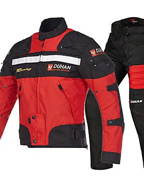 preiswerte Automobil-DUHAN 020 Motorradkleidung Jacke Hosen Set für Herrn Oxford Tuch Frühling / Sommer Wasserdicht / Schutz / Beste Qualität