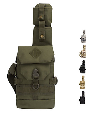 cheap Sports & Outdoors-6 L Hiking Sling Backpack Military Tactical Backpack Wear Resistance Outdoor Hiking Camping Military / Tactical Oxford Army Green Camouflage Khaki