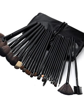 preiswerte Make Up For You®-Professionelle Make-up Pinsel Make-up Pinsel Set 24 Stück Grenzen Bakterien Pony / Kunsthaar / Pferd Make-up Pinsel für Make-up Pinsel Set / Kunstfaser Pinsel / Pony Pinsel