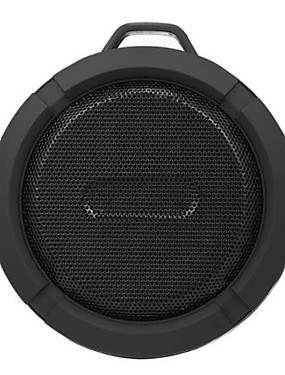 cheap Outdoor Speakers-C6 Waterproof / Bluetooth Speaker Bluetooth 4.1 USB Subwoofer Green / Black / Blue