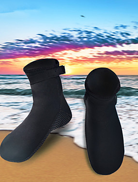 cheap Sports & Outdoors-HISEA® Men's Women's Neoprene Boots 3mm Neoprene Anti-Slip Barefoot Swimming Snorkeling Beach - for Adults