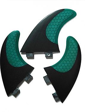cheap Sports & Outdoors-Srfda Surf Fin Surfboard Fins G5 FCS Base Glass fiber Center Fin Left Fin Right Fin For SUP Surfboard Longboards Shortboards 3 pcs