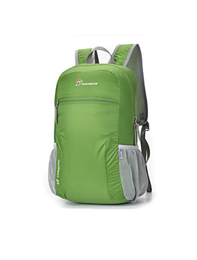 cheap Sports & Outdoors-Mountaintop® 25 L Hiking Backpack Lightweight Packable Backpack Multifunctional Lightweight Breathable Rain Waterproof Outdoor Hiking Camping School 100g / m2 Polyester Knit Stretch Sky Blue Green