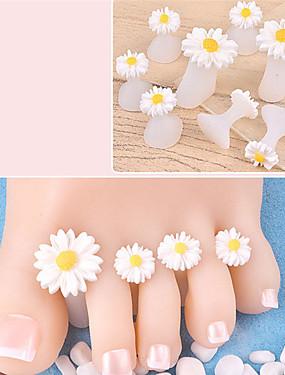 levne Ostatní díly-8ks Silikon Nástroje na nehty Pro toe Rozkošný Romantika nail art manikúra pedikúra Denní nošení