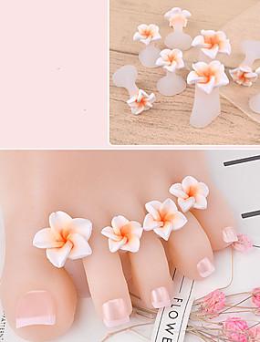 levne Ostatní díly-8ks Silikon Nástroje na nehty Pro toe Módní design Romantika nail art manikúra pedikúra Květina Denní nošení
