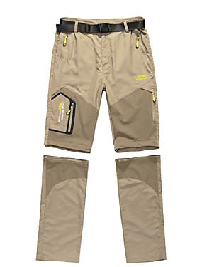 cheap Sports & Outdoors-Men's Hiking Pants Convertible Pants / Zip Off Pants Outdoor Waterproof Windproof Breathable Quick Dry Nylon Bottoms Camping / Hiking Fishing Hiking Black Army Green Khaki L XL XXL XXXL 4XL
