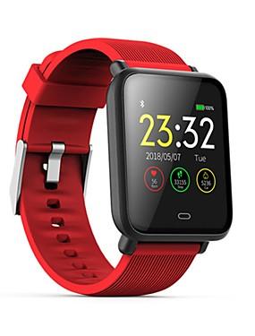 preiswerte Unterhaltungselektronik-Q9 Smart Watch BT Fitness Tracker Unterstützung benachrichtigen / Blutdruck / Pulsmesser Sport Bluetooth Smartwatch kompatibles iPhone / Samsung / Android-Handys