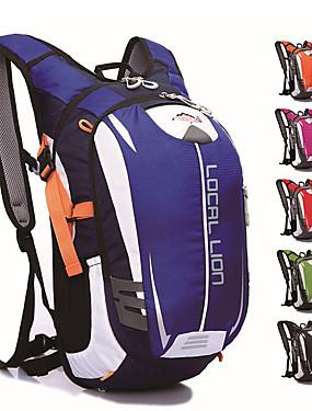 cheap Sports & Outdoors-18 L Hiking Backpack Daypack Cycling Backpack Large Capacity Waterproof Rain Waterproof Bike Bag Polyester Mesh Nylon Bicycle Bag Cycle Bag Cycling Mountain Bike / MTB Bike / Bicycle Camping / Hiking