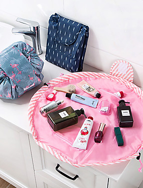 cheap Toys & Hobbies-Travel Large Capacity Lazy Makeup Bag Waterproof Quick Pack Toiletry Cosmetic Bags Pouch