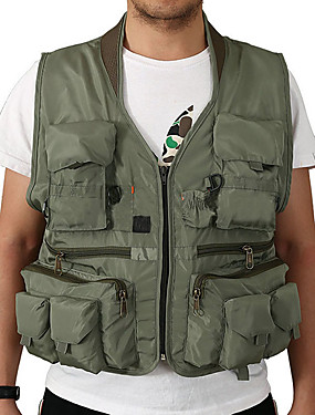 cheap Sports & Outdoors-Men's Women's Fishing Vest Vest / Gilet Breathability Camping / Hiking Hunting and Fishing Outdoor