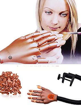 levne Ostatní díly-1 sada Kov / Organický plast UV Gel Pro prst Ergonomický design / Snímatelné Série zpráv Cartoon Series nail art manikúra pedikúra Vintage / Animák kancelář a kariéra / Denní