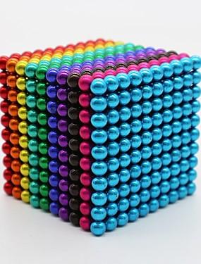 ieftine Jucării & Hobby-1000 pcs 3mm 5mm Jucării Magnet bile magnetice Jucării Magnet Lego Super Strong pământuri rare magneți Magnet Neodymium Magnetic Stres și anxietate relief Birouri pentru birou Ameliorează ADD, ADHD