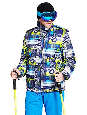 cheap Sports & Outdoors-Wild Snow Men's Ski Jacket Ski / Snowboard Multisport Snowsports Windproof Warm Ventilation Polyester Down Jacket Ski Wear / Winter