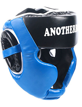 cheap Sports & Outdoors-Boxing Headgear / Head Guard For Muay Thai, Kickboxing, Sparring, Fighting Shockproof, Protection, Soft Adjustable, Extra Thick, Durable PU Leather Adults - Red / Blue / Pink ANOTHERBOXER