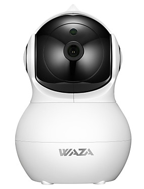 preiswerte Tuya App-WAZA SC02 2 mp IP-Kamera Innen Unterstützung 64 GB / PTZ / CMOS / Kabellos / iPhone OS / Android