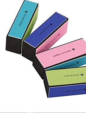 levne Pilníky a pufry-1ks Ekologický materiál Nástroj na nehty Pro Multifunkční Bílá série nail art manikúra pedikúra Moderní Denní
