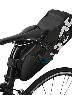 cheap Sports & Outdoors-ROSWHEEL 10 L Bike Saddle Bag Multifunctional Large Capacity Reflective Logo Bike Bag Polyster Bicycle Bag Cycle Bag Road Bike Mountain Bike MTB Folding Bike