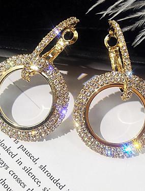 povoljno Ženski nakit-Žene Viseće naušnice asfaltirati Zvjezdana prašina Jednostavan Korejski Elegantno Bling Bling Svaki dan Imitacija dijamanta Naušnice Jewelry Zlato / Pink Za Rođendan Dnevno 1 par