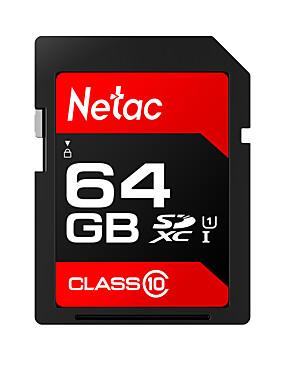 preiswerte SD Karten-Netac 64GB Speicherkarte UHS-I U1 / Class10 p600
