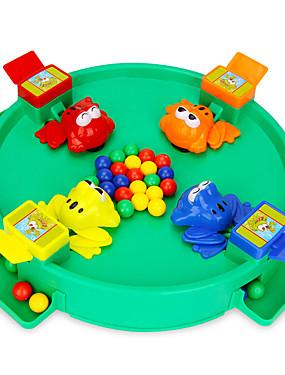 preiswerte Juguetes novedosos-Neuheiten Spielwaren verrückter Frosch essen Bohnen für den Ball mit Perlen, die Kinder Brettspiel Spielzeug füttern