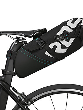 cheap Sports & Outdoors-ROSWHEEL 8/10 L Bike Saddle Bag Reflective Adjustable Large Capacity Bike Bag Leather Polyester Bicycle Bag Cycle Bag Cycling Bike / Bicycle