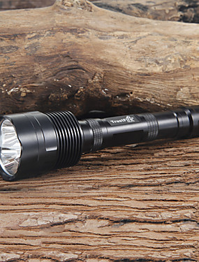 cheap Sports & Outdoors-Trustfire LED Flashlights / Torch 2400 lm LED LED 3 Emitters 5 Mode Camping / Hiking / Caving Everyday Use Black / Aluminum Alloy