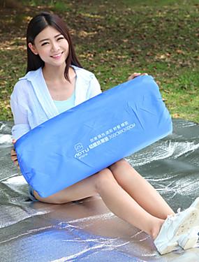 cheap Sports & Outdoors-AOTU Picnic Blanket Tent Tarps Outdoor Camping Portable Moistureproof Ultra Light (UL) PVC / Vinyl Aluminum Polyester 300*300 cm Climbing Beach Camping / Hiking / Caving for 5 - 7 person Autumn