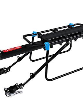cheap Sports & Outdoors-Bike Cargo Rack Max Load 50 kg Adjustable / Retractable Quick Dismantling Rear Shelf Quick Release Aluminum Alloy Road Bike Mountain Bike MTB - Black Black / Blue