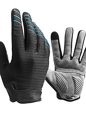 cheap Sports & Outdoors-CoolChange Winter Bike Gloves / Cycling Gloves Mountain Bike Gloves Mountain Bike MTB Thermal / Warm Breathable Anti-Slip Sweat-wicking Full Finger Gloves Sports Gloves Sponge Lycra Silicone Gel