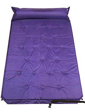cheap Sports & Outdoors-Self-Inflating Sleeping Pad Air Pad Outdoor Portable Moistureproof Comfortable Thick PVC / Vinyl 190*110 cm Camping / Hiking Camping Camping / Hiking / Caving All Seasons Violet