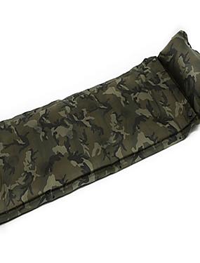 cheap Sports & Outdoors-AOTU Self-Inflating Sleeping Pad Air Pad Outdoor Portable Moistureproof Ultra Light (UL) Wearproof EPE Foam 183*57*2.5 cm Camping / Hiking Climbing Camping / Hiking / Caving All Seasons Green Blue