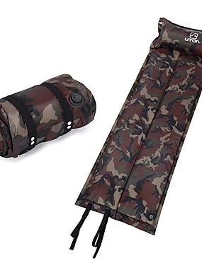 cheap Sports & Outdoors-AOTU Self-Inflating Sleeping Pad Air Pad Outdoor Portable Moistureproof Ultra Light (UL) Wearproof Terylene 185*55*2.5 cm Camping / Hiking Climbing Camping / Hiking / Caving All Seasons Camouflage