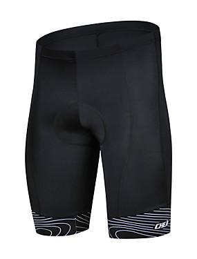 cheap Sports & Outdoors-cheji® Men's Cycling Padded Shorts Bike Shorts Pants / Trousers MTB Shorts Breathable Quick Dry Sports Lycra White / Red / Green Mountain Bike MTB Road Bike Cycling Clothing Apparel Bike Wear