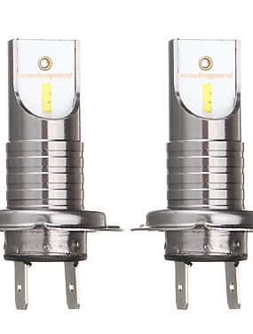 preiswerte Autolicht-2 stücke h7 55 watt 2600lm 6000 karat auto led scheinwerfer lampe weiß nebelscheinwerfer ip68 wasserdicht