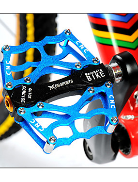 cheap Sports & Outdoors-Acacia Mountain Bike Pedals Flat & Platform Pedals Anti-Slip Durable Easy to Install Aluminium Alloy for Cycling Bicycle Road Bike Mountain Bike MTB BMX Orange