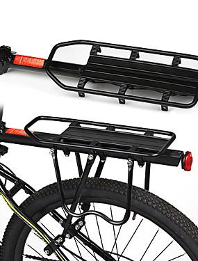 cheap Sports & Outdoors-Bike Cargo Rack Rear Rack Max Load 50 kg Adjustable Wearproof Quick Release Aluminum Alloy Road Bike Mountain Bike MTB Road Cycling - Black