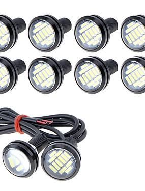 preiswerte Automobil-10 Stück Kabelverbindung Motorrad / Auto Leuchtbirnen 5 W SMD 4014 250 lm 12 LED Nebelscheinwerfer / Tagfahrlicht / Kennzeichenbeleuchtung Für Universal
