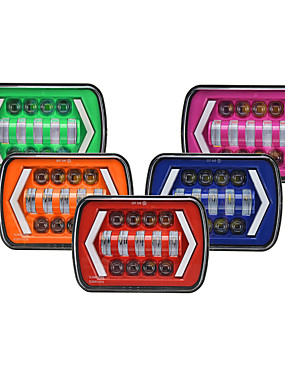 preiswerte Automobil-1pcs H4 Auto Leuchtbirnen 55 / 30 W 8250 / 4500 lm 12 LED Scheinwerfer Für Universal / Toyota / Mercedes-Benz Alle Modelle Alle Jahre