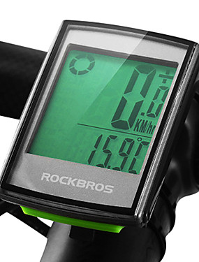 cheap Sports & Outdoors-ROCKBROS BC355 Bike Computer / Bicycle Computer Speed Cadence Sensor Heart Rate Sensor Waterproof Wireless Backlight Road Bike Mountain Bike MTB Cycling