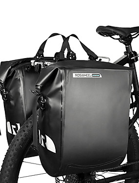 cheap Sports & Outdoors-ROSWHEEL 20 L Bike Panniers Bag Bike Rack Bag Waterproof Rain Waterproof Moistureproof Bike Bag PVC(PolyVinyl Chloride) Bicycle Bag Cycle Bag Cycling Outdoor Exercise